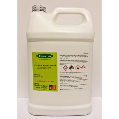 Neutral Buffered Formalin 1 Gallon